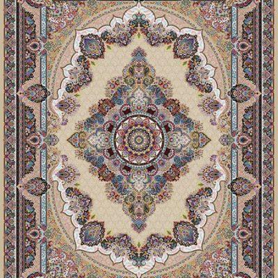 فرش ماشینی 1000 شانه طرح دیبا