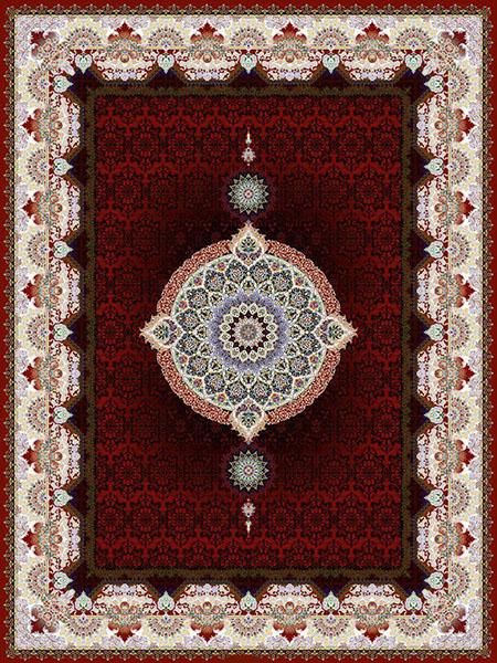 فرش ماشینی 1000 شانه طرح کادو