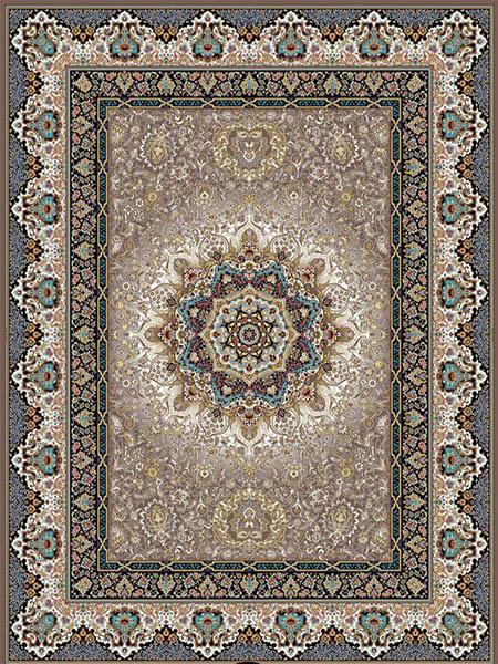 فرش ماشینی 1000 شانه طرح پاییزان