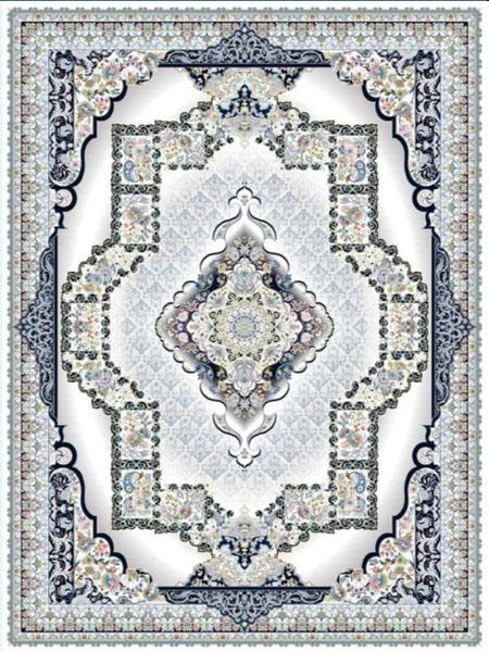 خرید فرش ماشینی 700 شانه در اصفهان طرح چشمه8016