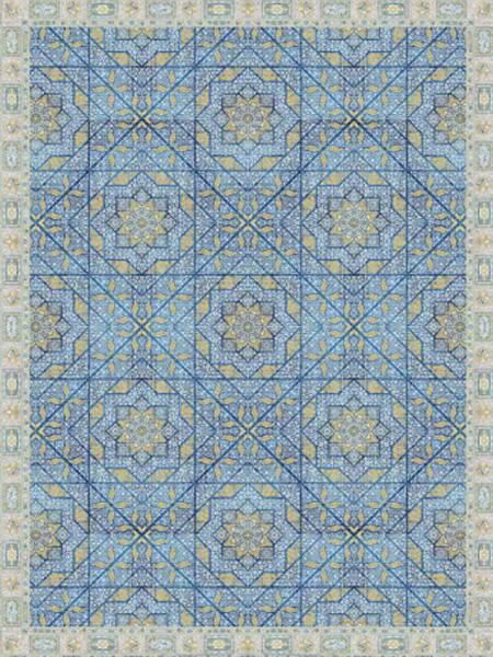 فرش قالی سلیمان طرح Map 4