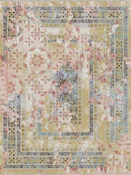 فرش قالی سلیمان طرح Map 7