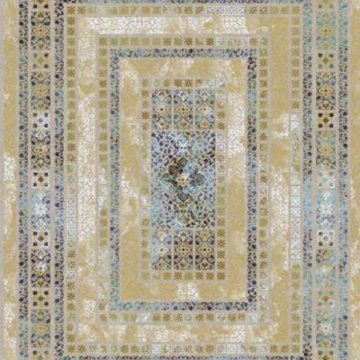 فرش قالی سلیمان طرح Map 8