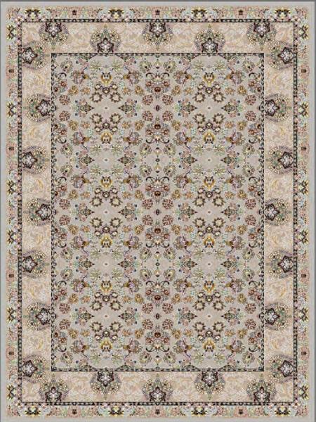 فرش قالی سلیمان طرح گل مرغ