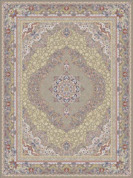 فرش ماشینی برند قالی سلیمان طرح حاتم