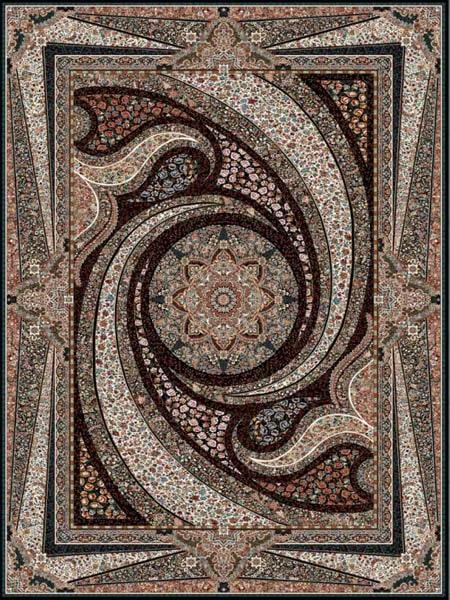 خرید فرش ماشینی طرح کهکشان برند قالی سلیمان