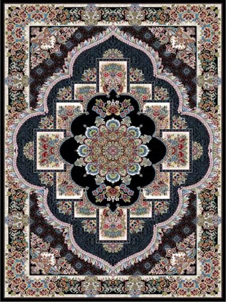 فرش قالی سلیمان طرح ناردون