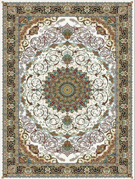 خرید فرش ماشینی 700 شانه طرح رخشان برند قالی سلیمان