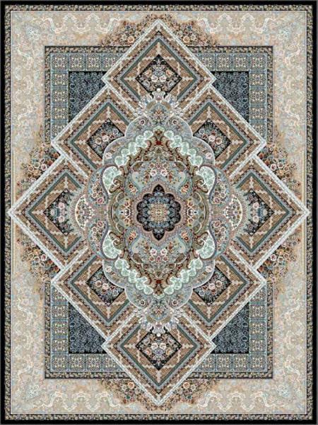 فرش قالی سلیمان طرح رویان